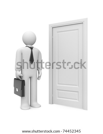 New opportunities wait you - stock photo