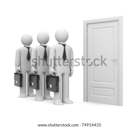 New opportunities waits. Image contain clipping path - stock photo