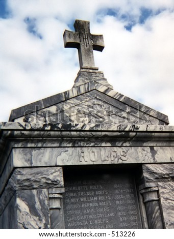 New Orleans Tomb - stock photo