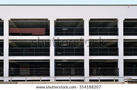 New parking - stock photo