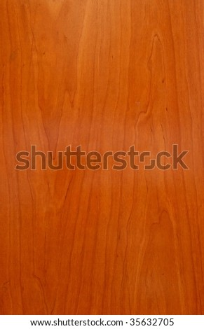 New polished wooden texture - stock photo