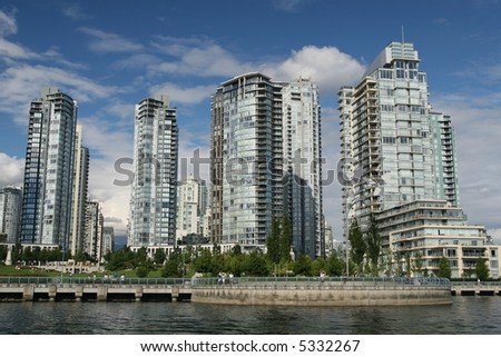 New Residential Towers - stock photo