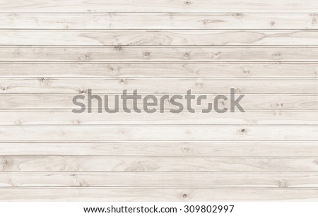 New teak wooden wall texture for background - stock photo