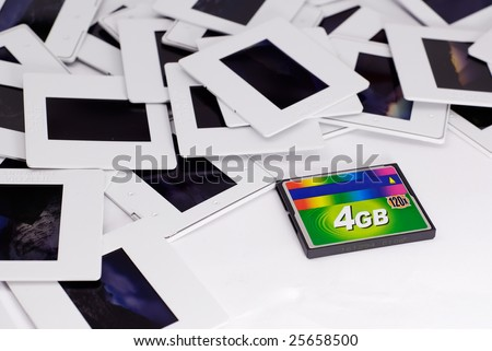 New Technology And Film - stock photo