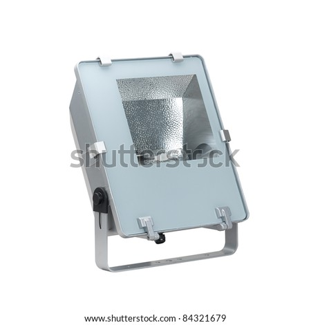 new technology and modern designed of spotlight - stock photo