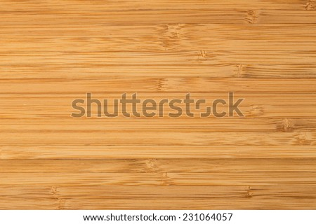 New wooden cutting board isolated - stock photo