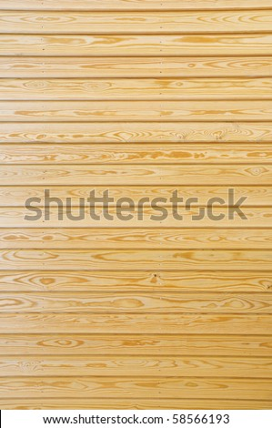 New Wooden Panels - stock photo