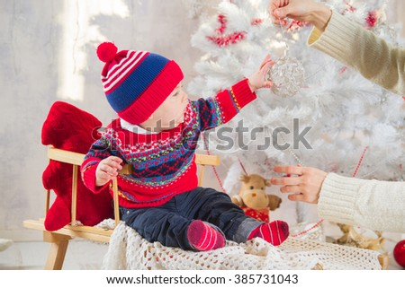 New Year Boy - stock photo