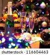 New year celebration - stock photo