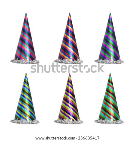 New year celebration Party items - stock photo