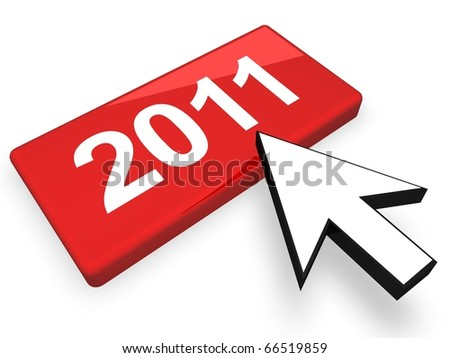 New Year Concept - stock photo