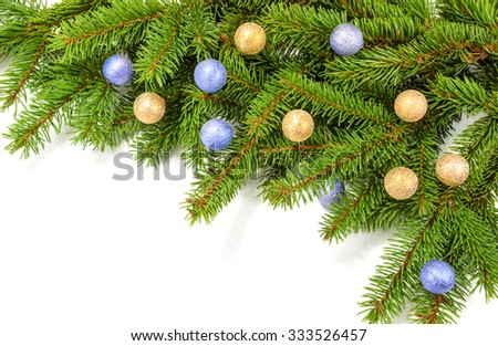 new year or christmas decoration - stock photo