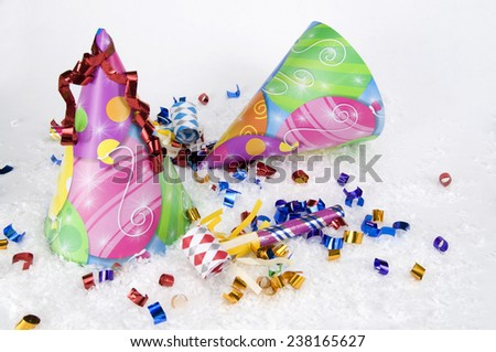 New Year's Party, Birthday Party - stock photo