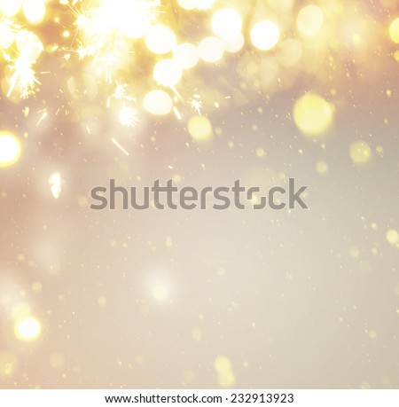 new years background - stock photo
