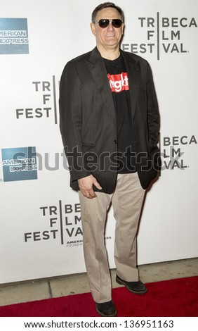 NEW YORK - APRIL 27: Craig Hatkoff attends the closing night screening of 'The King of Comedy'  during the 2013 Tribeca Film Festival on April 27, 2013 in New York - stock photo