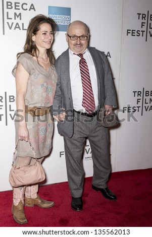 NEW YORK - APRIL 17: Lisa and Craig Middleton attend 'Mistaken For Strangers' Opening Night Premiere during the 2013 Tribeca Film Festival  on April 17, 2013 in New York - stock photo