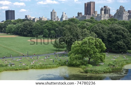 New York Central Park - stock photo