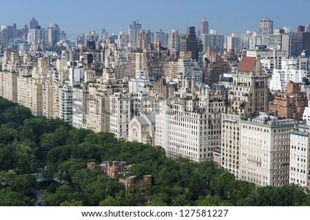 New York Central Park, Manhattan - stock photo