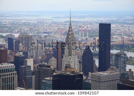 New York City in all its glory - stock photo