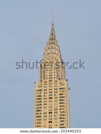 New York City - June 30, 2015: Chrysler Building, New York City, USA. - stock photo