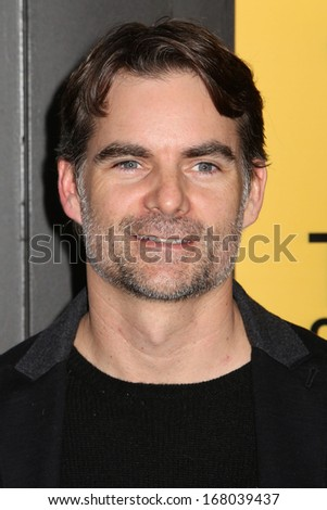 "NEW YORK - DEC 17: Jeff Gordon attends the premiere of ""The Wolf Of Wall Street"" at the Ziegfeld Theater on December 17, 2013 in New York City. - stock photo"