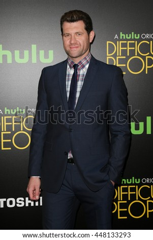 NEW YORK-JUL 30: Actor Billy Eichner Cruise attends the Hulu Original Premiere of 'Difficult People' at the SVA Theater on July 30, 2015 in New York City. - stock photo