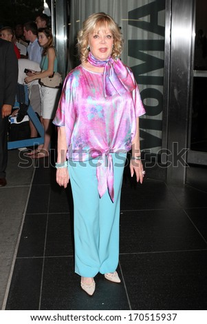 "NEW YORK - JULY 16: Candy Spelling attends a screening of ""Red 2"" at the Museum of Modern Art on July 16, 2013 in New York City. - stock photo"