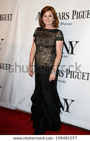 NEW YORK-JUNE 8: Actress Mare Winningham attends American Theatre Wing's 68th Annual Tony Awards at Radio City Music Hall on June 8, 2014 in New York City. - stock photo