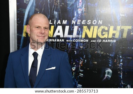 "NEW YORK-MAR 9: Composer Tom Holkenborg attends the premiere of ""Run All Night"" at AMC Loews Lincoln Square on March 9, 2015 in New York City. - stock photo"