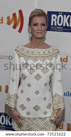 NEW YORK - MARCH 19: Sandra Lee attends the 22nd Annual GLAAD Media Awards at The New York Marriott Marquis on March 19, 2011 in New York City. - stock photo