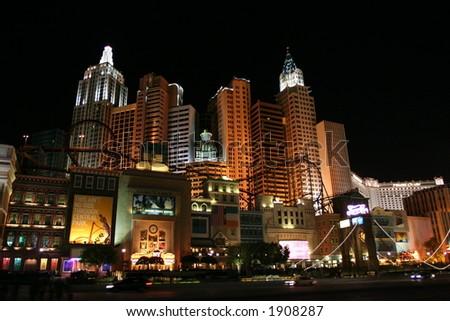 New York, New York Hotel and Casino - stock photo
