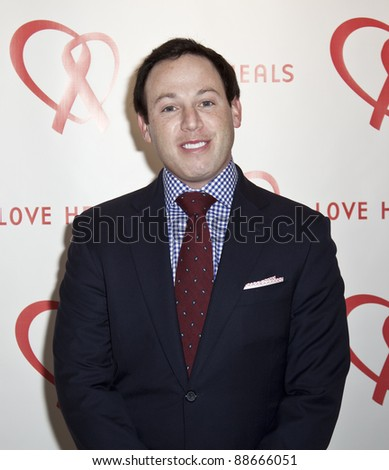 NEW YORK - NOVEMBER 09: Michael Lorber attends Love Heals The Alison Gertz Foundation For AIDS Education 20th Anniversary gala at the Four Seasons Restaurant on November 9, 2011 in New York City, NY. - stock photo