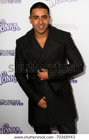 "NEW YORK, NY - FEBRUARY 02: Jay Sean attends the ""Justin Bieber: Never Say Never"" New York movie premiere at the Regal E-Walk 13 Theater on February 2, 2011 in New York City. - stock photo"