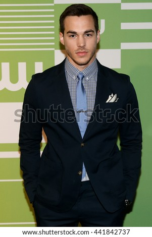 NEW YORK, NY - MAY 14: Actor Chris Wood attends the 2015 CW Network Upfront Presentation at the London Hotel on May 14, 2015 in New York City. - stock photo