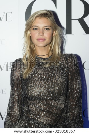 New York, NY - September 30: Model Kelly Rohrbach attends Evolve Media's Exclusive Celebration for the relaunch of CraveOnline.com at Provocateur - stock photo