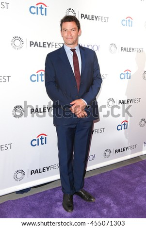 NEW YORK-OCT 12: Dominic West attends 'The Affair' screening at PaleyFest New York 2015 at The Paley Center for Media on October 12, 2015 in New York City. - stock photo