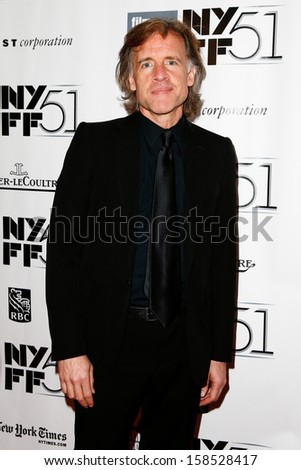 "NEW YORK- OCT 8: Producer Bill Pohlad attends the ""12 Years A Slave"" premiere at the New York Film Festival at Alice Tully Hall at Lincoln Center on October 8, 2013 in New York City.  - stock photo"