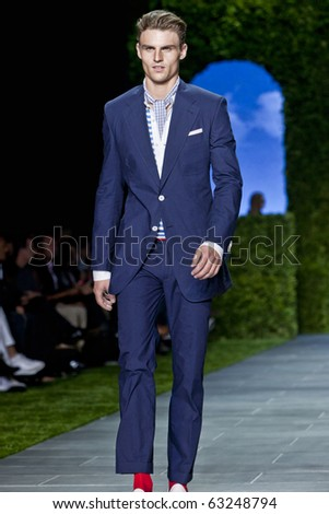NEW YORK - SEPTEMBER 12: Tommy Hilfiger spring summer 2011 fashion show at New York fashion week September 12, 2010 in New York, New York - stock photo