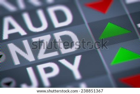 New Zealand dollar - stock photo