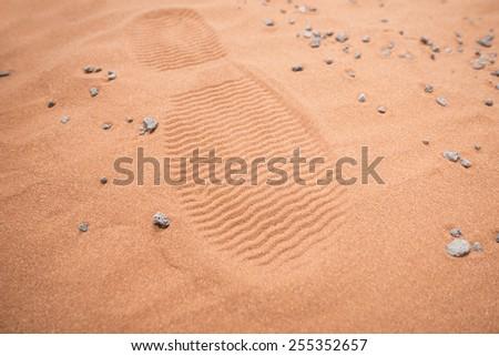 next giant leap for mankind: mars destination - stock photo