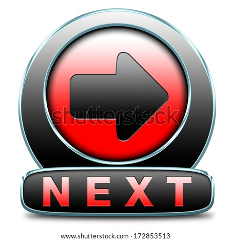 next or forward level in gaming, play game button or icon higher difficult levels - stock photo