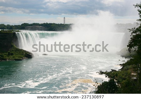 Niagara Falls Canada - stock photo