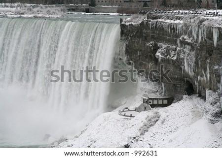 Niagara Falls Tour Building - stock photo