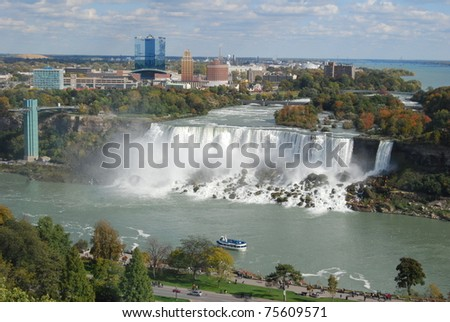 Niagara Falls, USA - stock photo