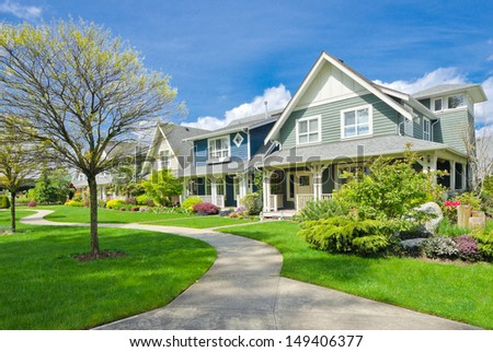 Nice home stock photos images pictures shutterstock for Nice houses in canada