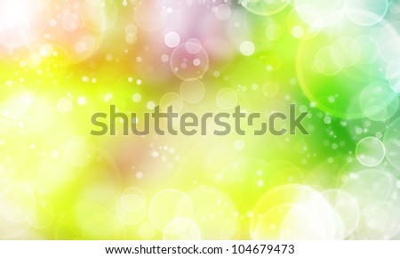 nice background abstract texture with lights bokeh and stars - stock photo