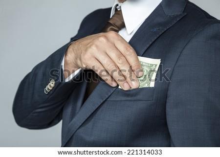 Nice bribe - stock photo