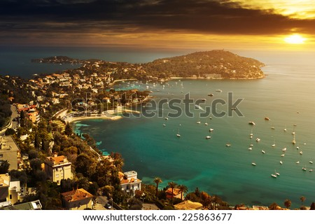 Nice in France  - stock photo