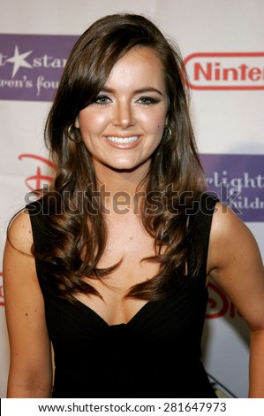Nicole Lapin attends the 2007 Starlight Starbright Children's Foundation Gala held at the Beverly Hilton Hotel in Beverly Hills, California on March 23, 2007.  - stock photo