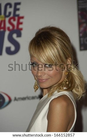Nicole Richie at The 13th Annual Race To Erase MS Gala to benefit the Nancy Davis Foundation for Multiple Sclerosis, The Hyatt Regency Century Plaza Hotel & Spa, Los Angeles, May 12, 2006 - stock photo